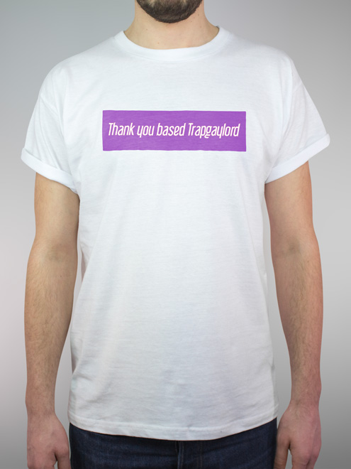Juicy Gay - Trapgaylord - purple/white