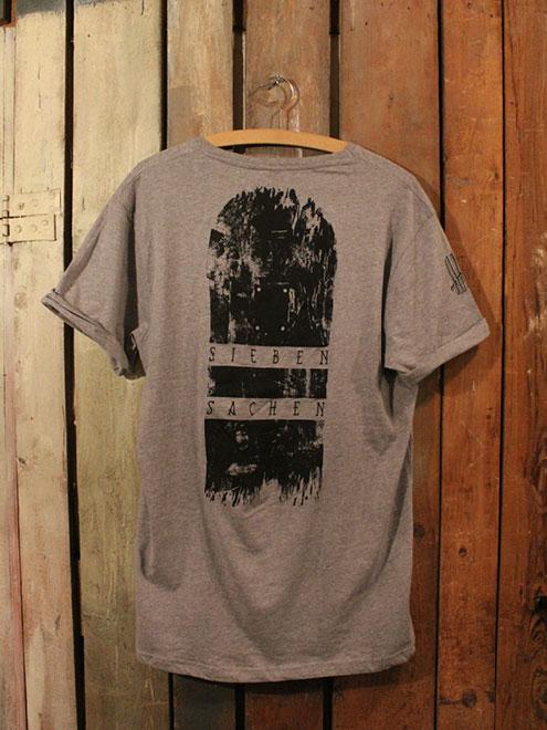 Skateboard Shirt Grey/Black