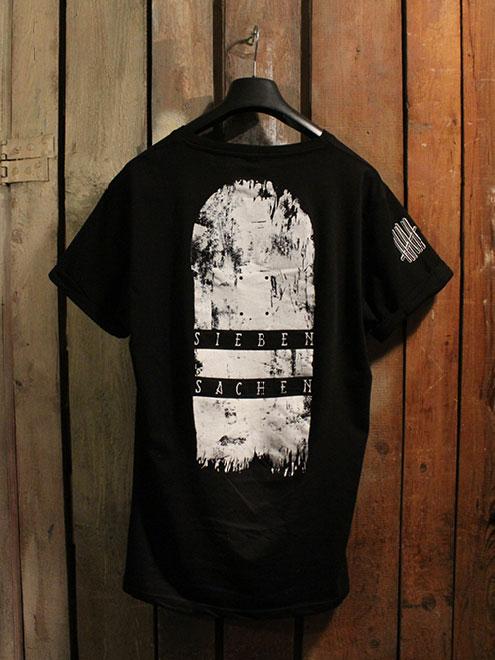 Skateboard Shirt Black/White
