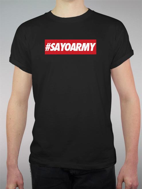 #Sayoarmy
