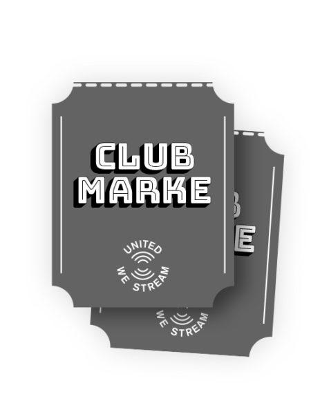 Hol Dir die virtuelle Clubmarke! (Spende) - UnitedWeStream - Rhein-Neckar