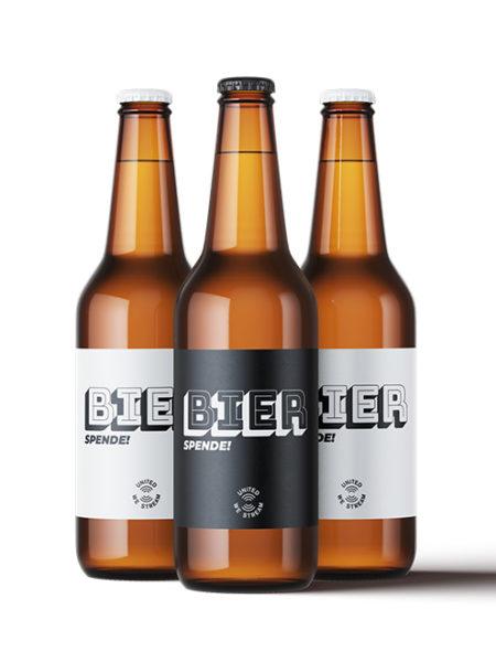 Trink ein virtuelles Bier! (Spende) - UnitedWeStream - Leipzig