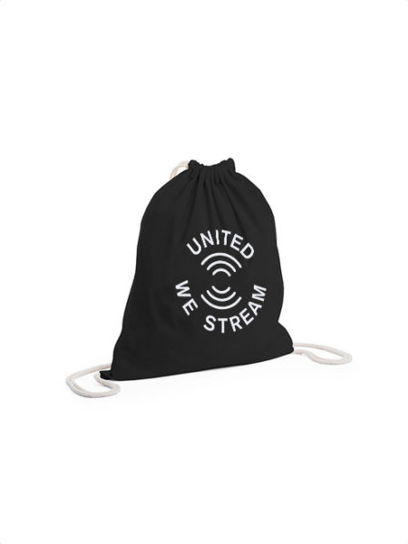 UnitedWeStream - Rhein-Neckar - Backpack Black