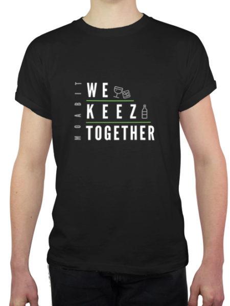 We Keez Together - Shirt Black