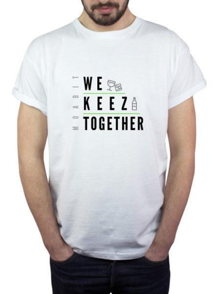 We Keez Together - Shirt White