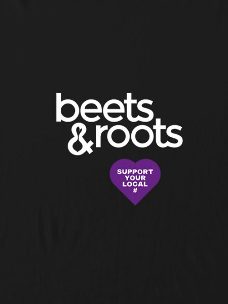 Beets & Roots Hoody Black – UNISEX