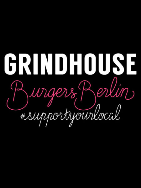 Grindhouse Burger – Shirt Black – Ecoline