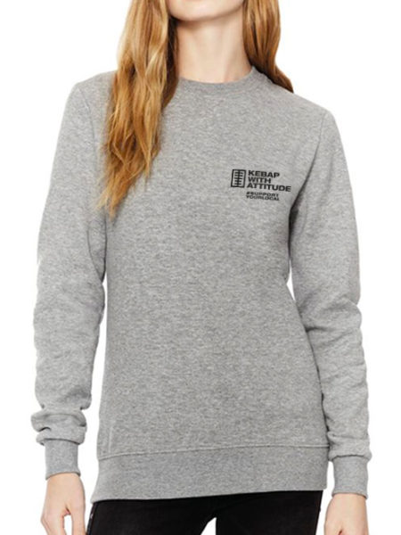 Kebap with Attitude - Sweater Grey - UNISEX