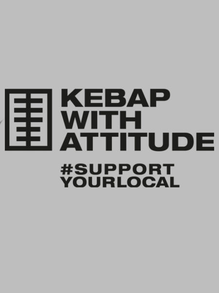 Kebap with Attitude – Sweater Grey – UNISEX