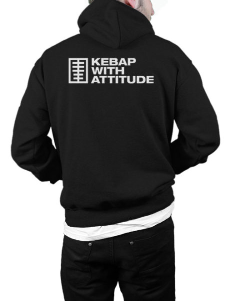 KWA – Kebap Your Life – Hoody Black – UNISEX