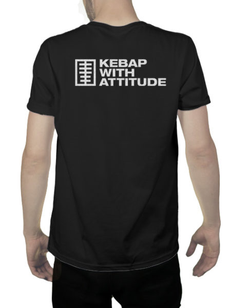 KWA – Kebap Your Life – Shirt Black – Ecoline