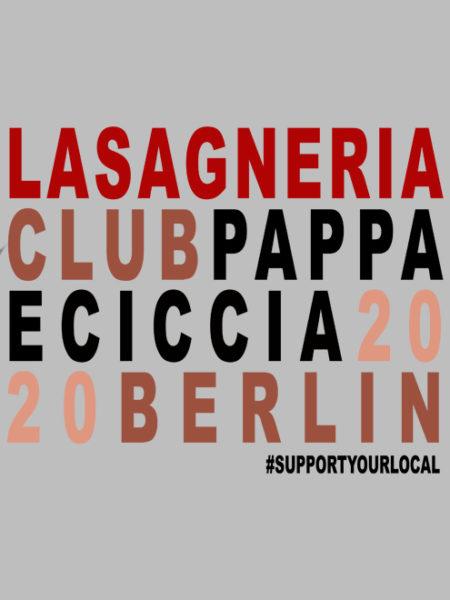 Pappa e Ciccia – Lasagneria Club – Hoody Grey – UNISEX