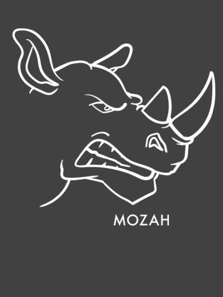 MOZAH – HOODIE CONVOY GREY – UNISEX