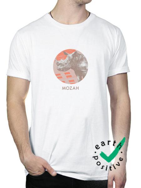 MOZAH - RHINO SHIRT WHITE - ECOLINE
