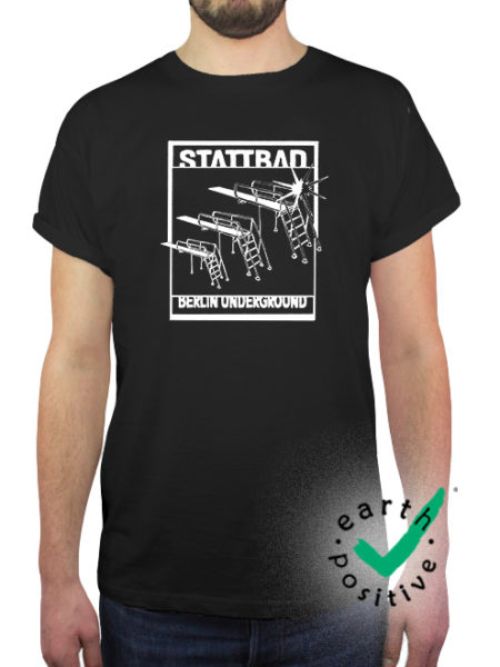 Stattbad - Shirt Black - Ecoline