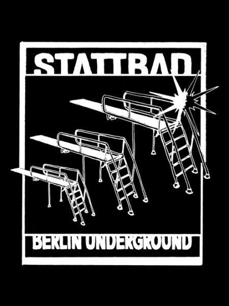 Stattbad – Shirt Black – Ecoline