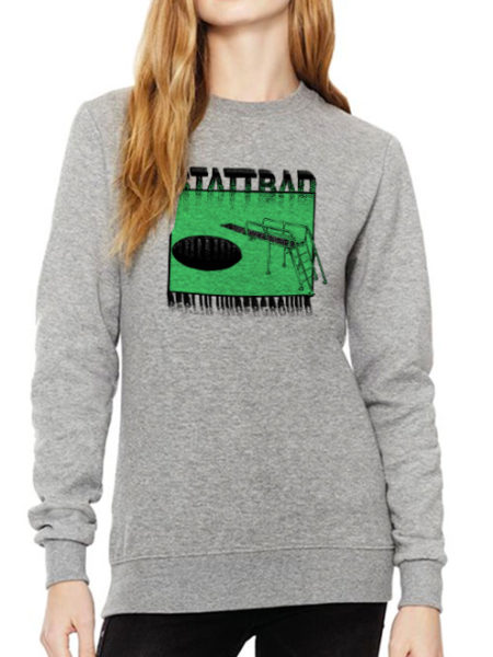 Stattbad - Sweater Grey - UNISEX