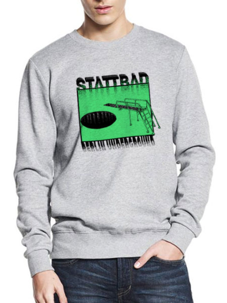 Stattbad – Sweater Grey – UNISEX