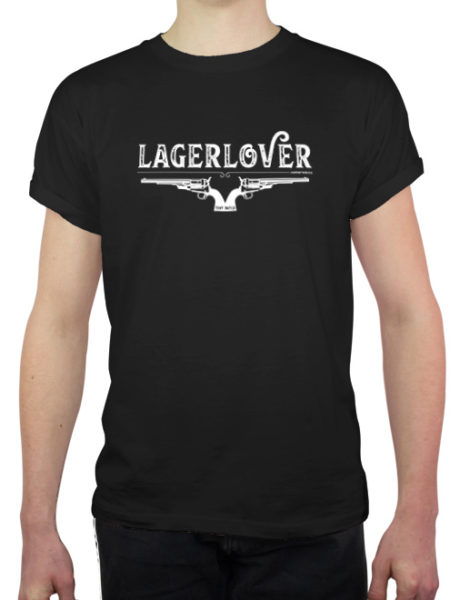 Tiny Batch Co. - Lagerlover Shirt Black - Ecoline
