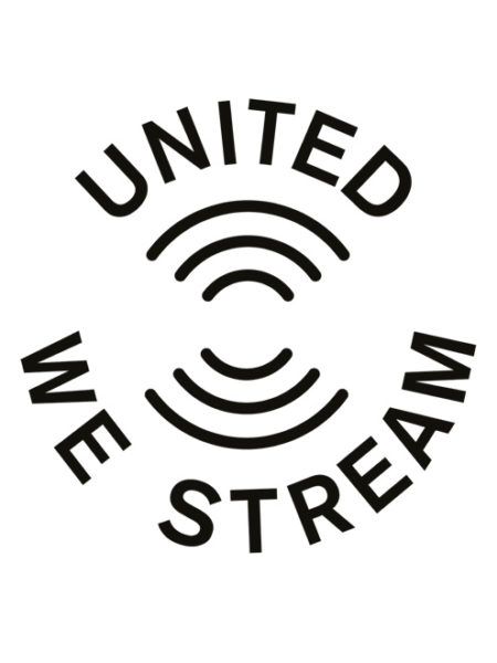 United We Stream – Shirt White – Ecoline