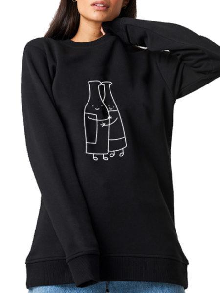 WKT - Bierliebe - Sweater Black - UNISEX