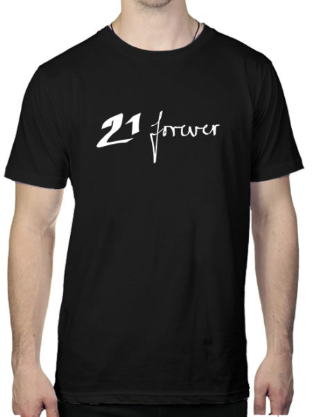 WKT - 21 Forever - Shirt Black