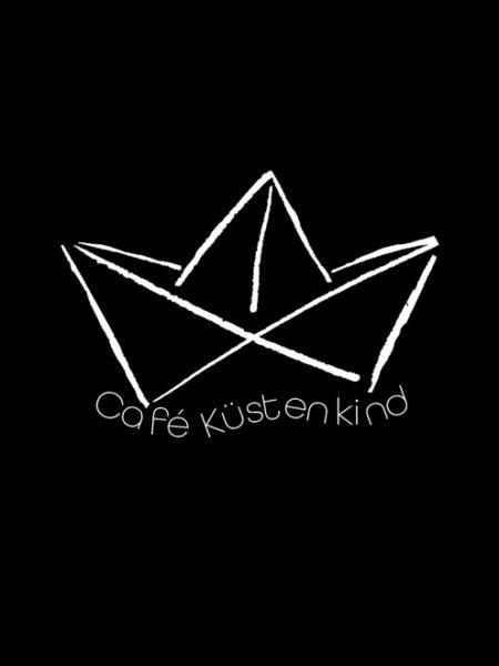 Café Küstenkind – Hoody Black – UNISEX