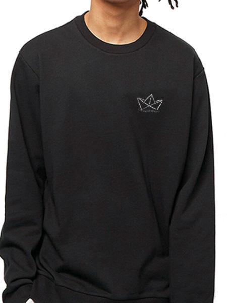 Café Küstenkind – Sweater Black – UNISEX