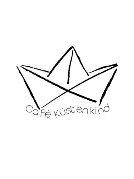 Café Küstenkind – Shirt White – Ecoline