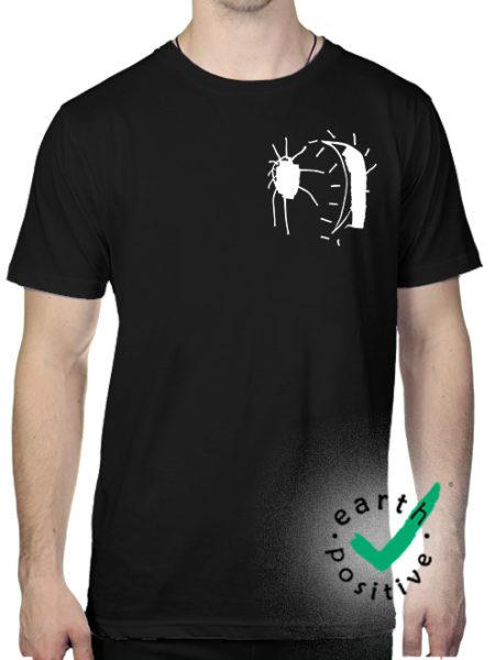 Perlou - Mond Geht Auf - Shirt Black - Ecoline