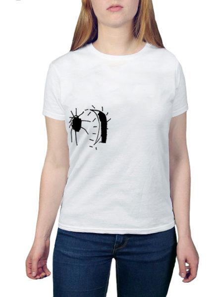Perlou – Mond Verrückt – Shirt White
