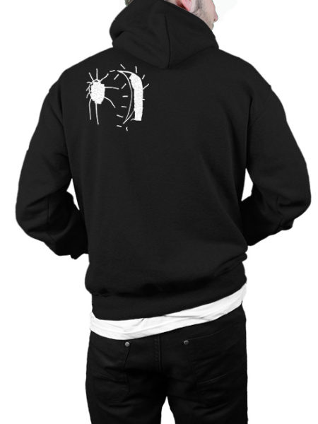 Perlou Bar - Sonne am Boden - Hoodie Black - UNISEX