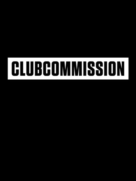 CLUBCOMMISSION – Shirt Black – Ecoline