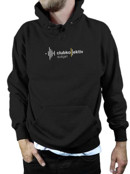 Clubkollektiv Stuttgart - Hoody Black - UNISEX