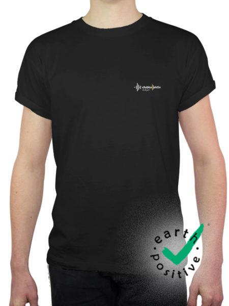 Clubkollektiv Stuttgart - Shirt Black - Ecoline