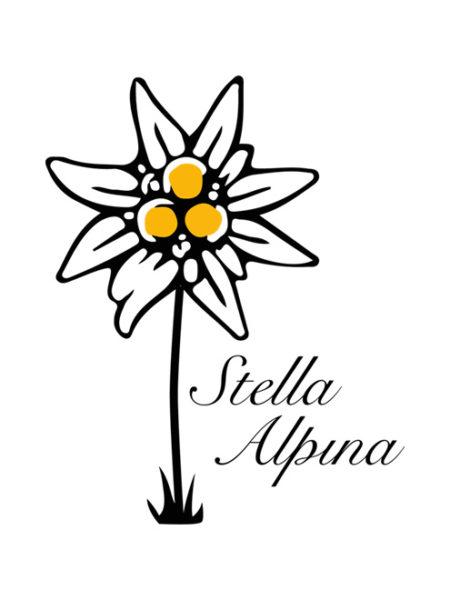 Stella Alpina Ristorante – Shirt White – Ecoline