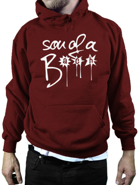 SON OF A BACH - HOODY BURGUNDY - ECOLINE - UNISEX