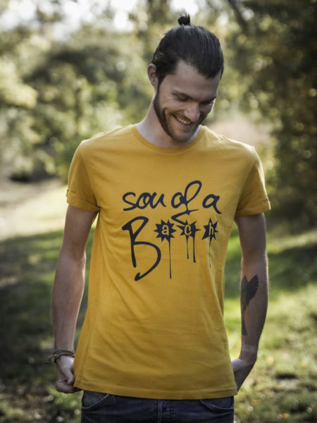 SON OF A BACH - SHIRT MUSTARD - ECOLINE