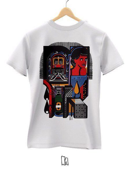 NORDACHSE TATTOO SHIRT WHITE