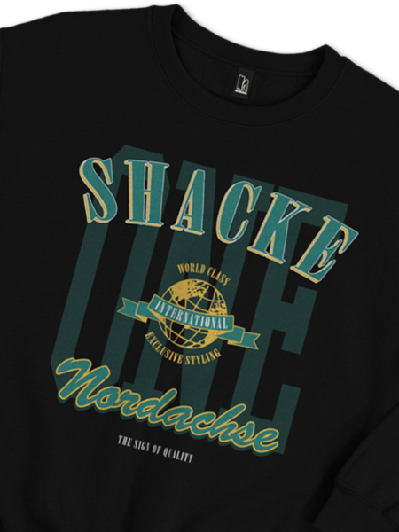SHACKE ONE SWEATER SCHWARZ