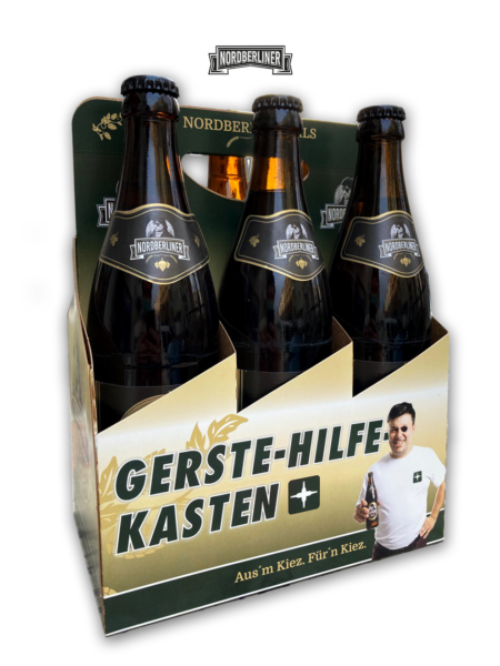 DOPPELTER-GERSTE-HILFE KASTEN