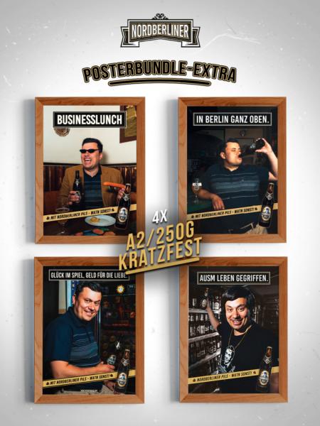 Posterbundle Extra • 4 x DIN A2 • 250g